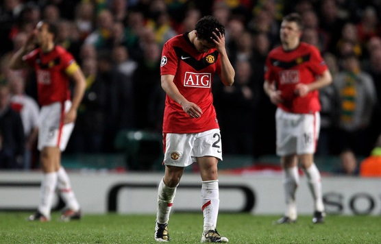 Rafael Red Card Man Utd Blow It