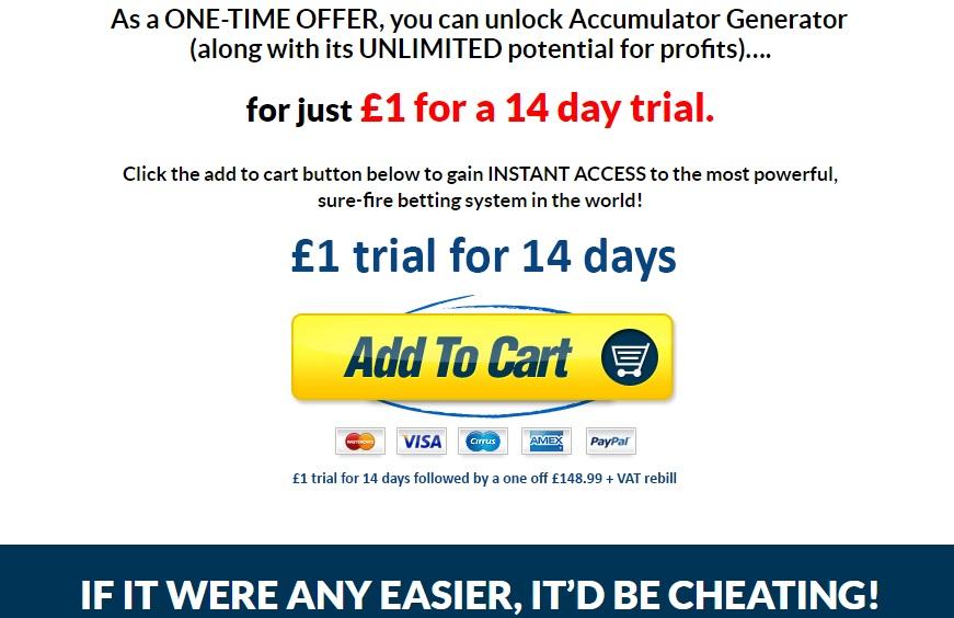 Accumulator Generator Trial