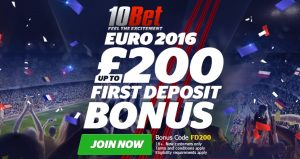 Get a £200 Euro 2016 Welcome Bonus