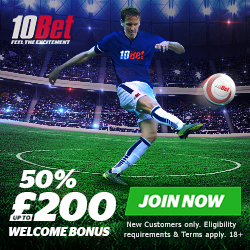 10Bet New Customers Offer