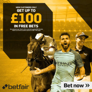 Liverpool Brighton Betfair £100 Bet Bundle