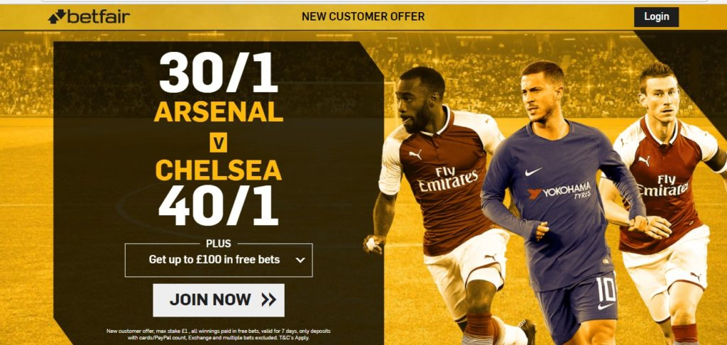 Betfair New Customers Offer