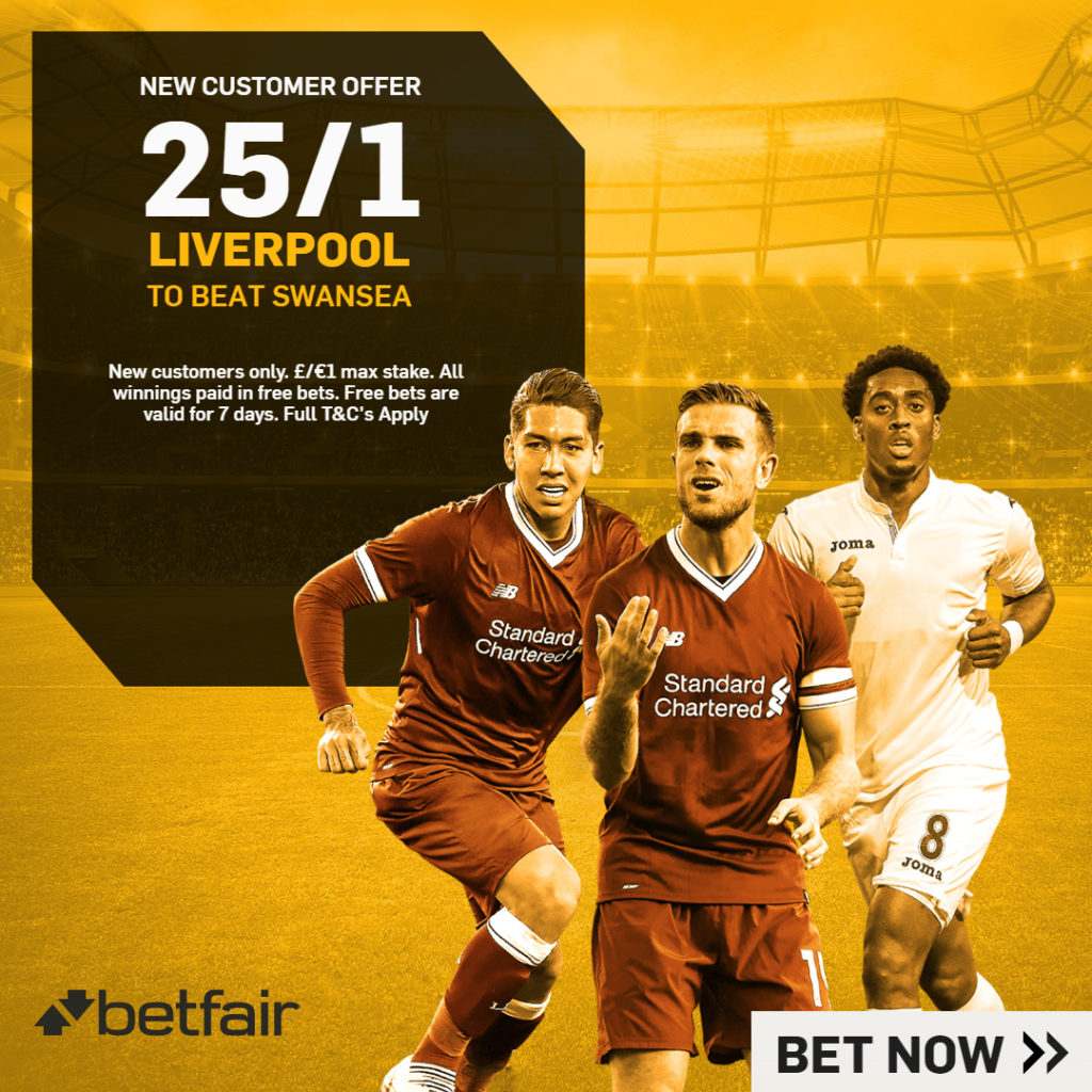 Betfair 25/1 New Customers Offer