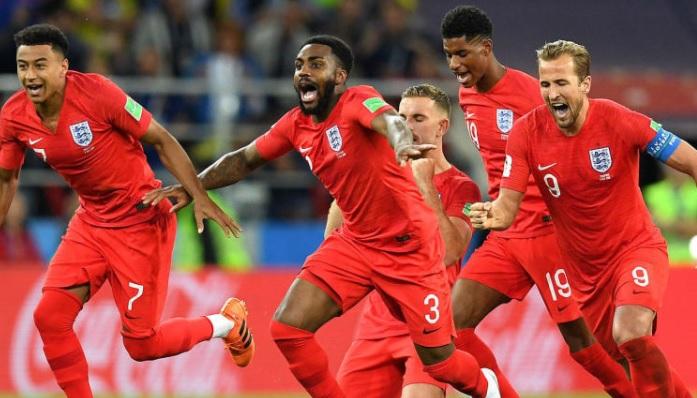 England 2018 World Cup Final
