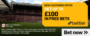 Betfair Football Betting