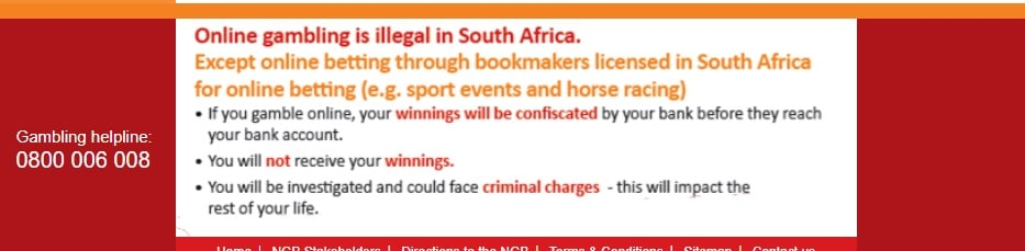 Is Betting Legal In South Africa