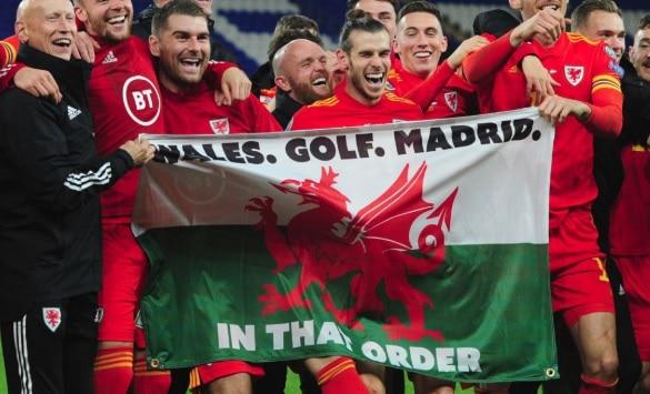 Wales Golf Madrid Gareth Bale