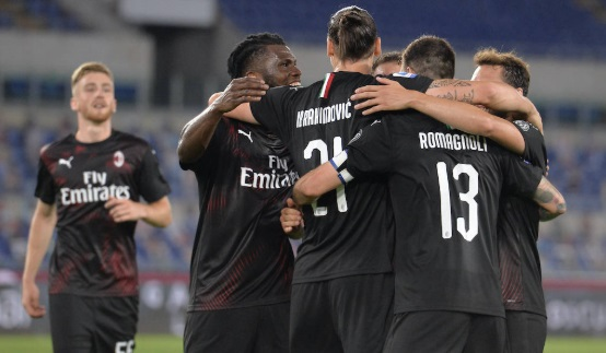 Lazio lose to AC Milan Serie A