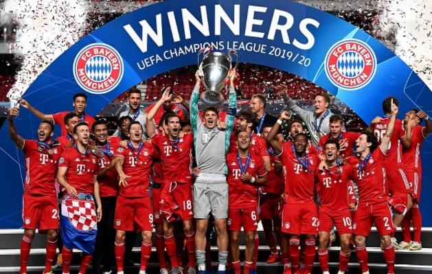 2020 Champions League Winners Bayern Munich