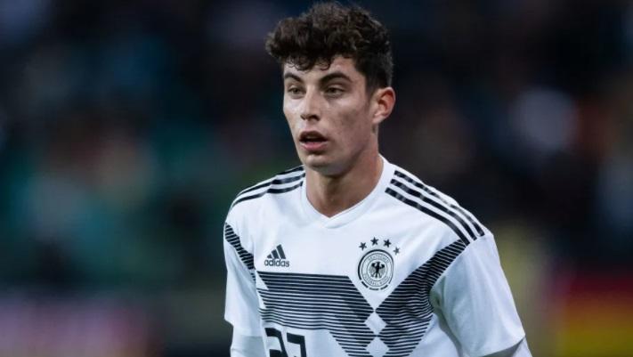 Chelsea sign Germany international Kai Havertz