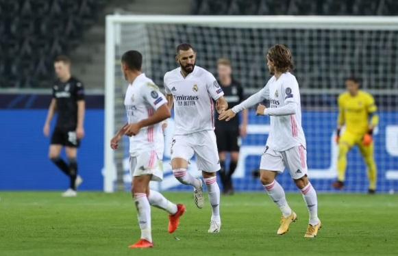Monchengladbach V Real Madrid