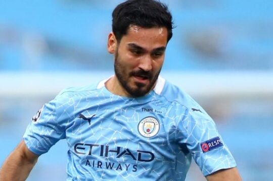Gundogan leads Man City to 16 wins in a row