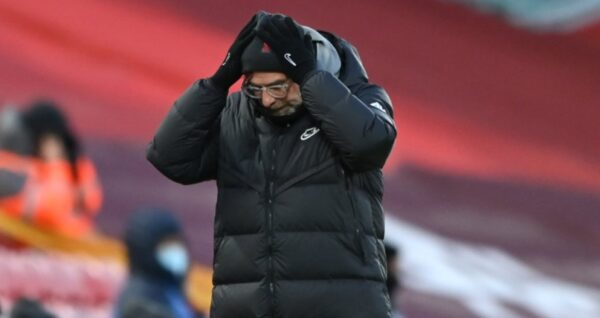 Jurgen Klopp concedes title is over for Liverpool