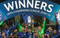 Chelsea 2021 Champions League Winners