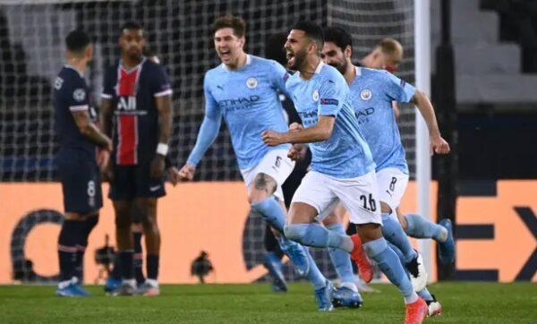 PSG vs Man City 2021