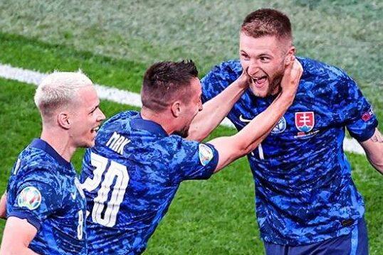 Poland Slovakia Euro 2020 Highlights