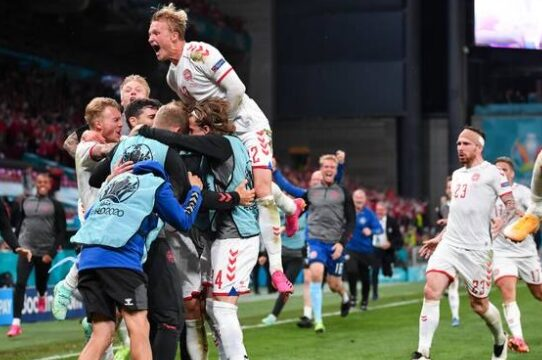 Russia vs Denmark Euro 2020 Highlights